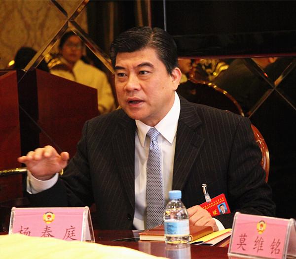 杨春庭参加政协文化艺术、文新体广电界讨论政府工作报告