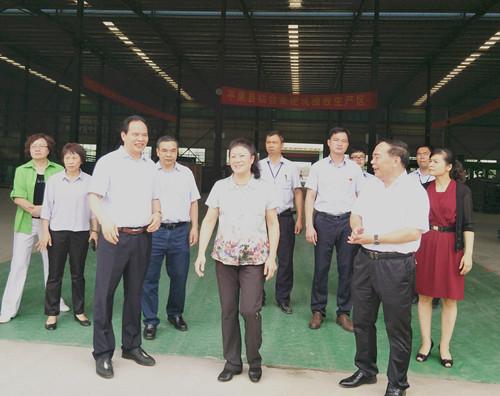 市政协调研组到平果县平铝门窗科技有限公司调研